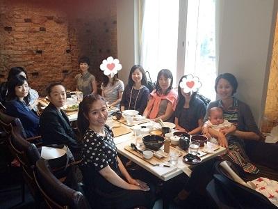 2015.7.7 東京ママ'S カフェ